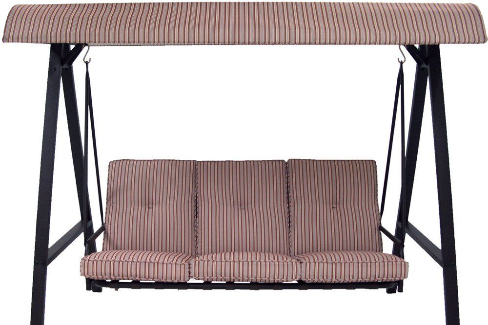 Mainstays Three Person Swing Replacement Cushions 104 50 139 99