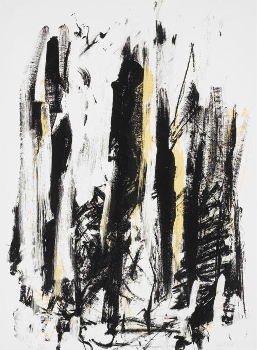 kerryroanshares: Joan Mitchell Untitled 1991