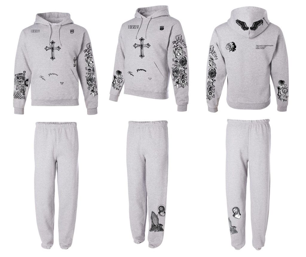 full body hoodie justin bieber full body tattoo hoodie and sweatpants 5204