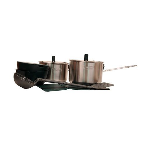Stanley Adventure Two Pot Prep + Cook Set SS Into the Woods - prep cook