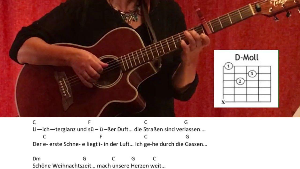 Weihnacht Frohe Weihnacht Aschenbrodel Gitarre Tutorial Cover Akkorde Lyrics Easy Youtube Gitarre Frohe Weihnacht Gitarre Lernen
