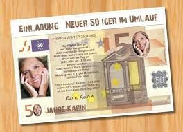 Bildergebnis Für Einladungskarten 50 Stück Für 25 Euro 40 Geburtstag