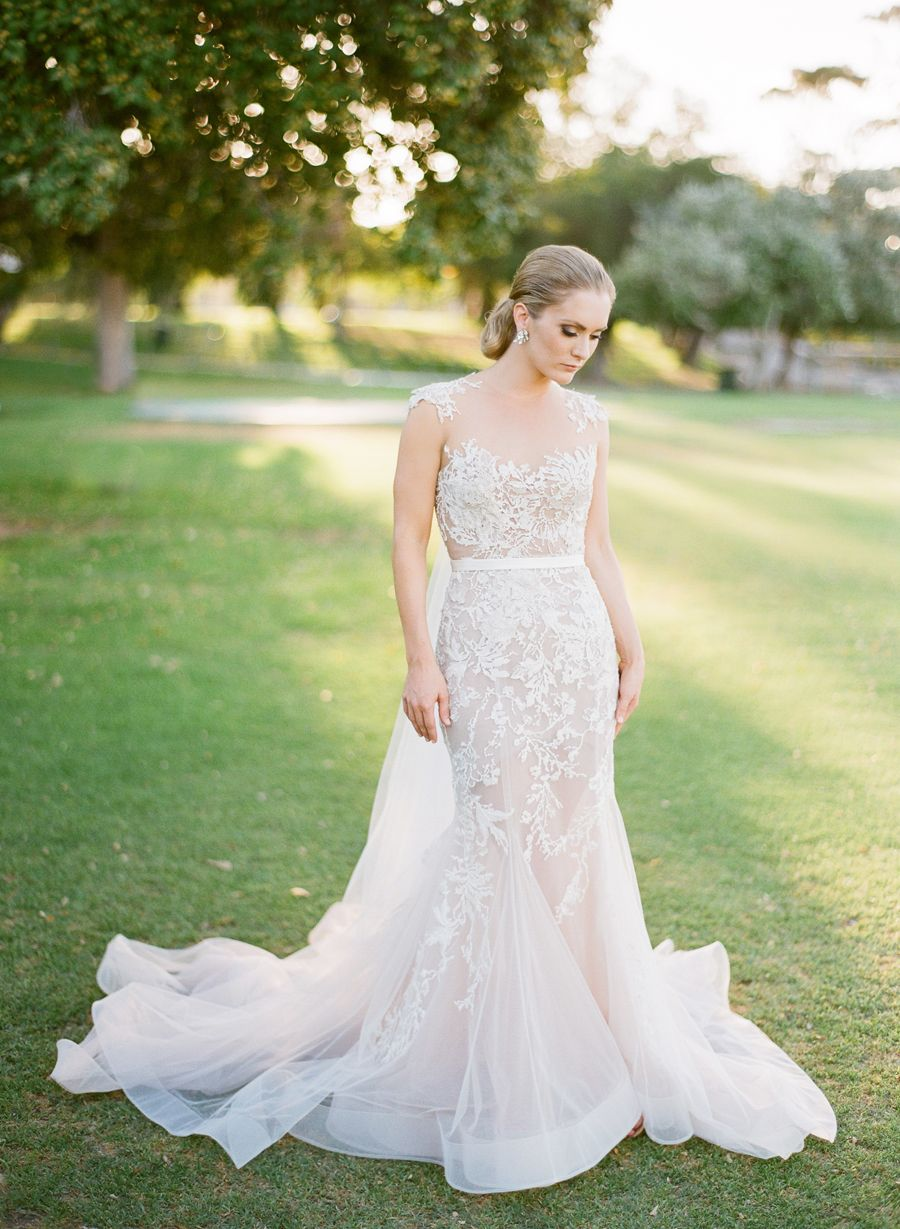 Another shot of our lovely Perth bride Samantha in her custom made Paolo Sebastian gown