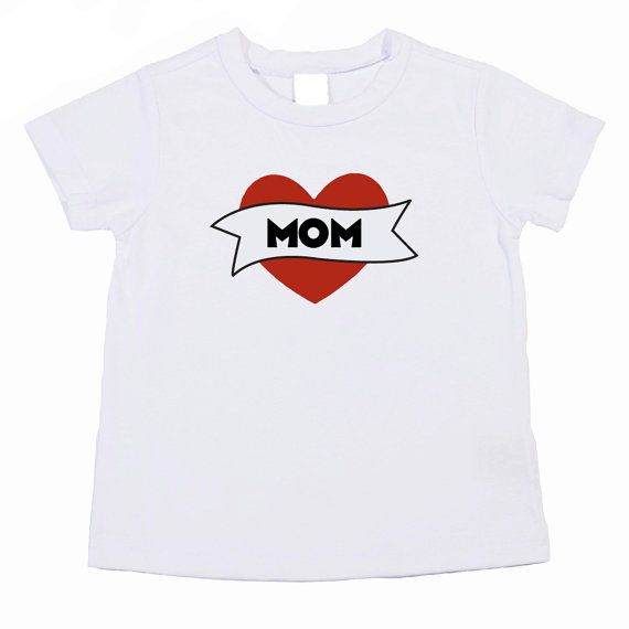 c51e789ac Mom Heart Tattoo TShirt Great for Mother's Days. Mum is also avail. by  funkycoolthreads, $17.00