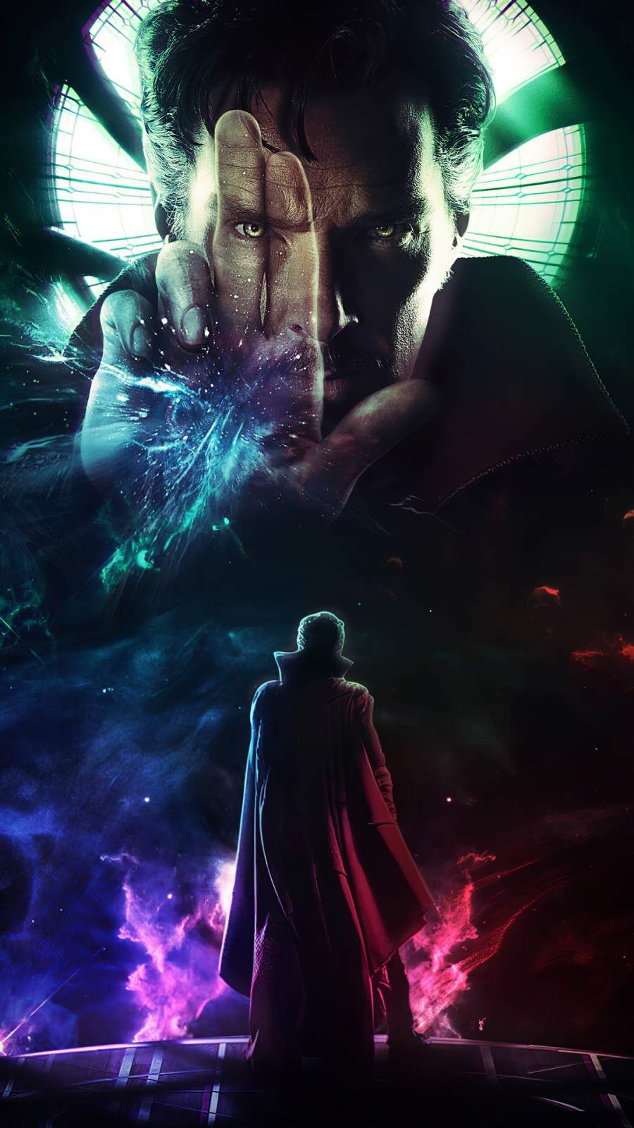 Doctor Strange Multiverse of Madness iPhone Wallpaper in