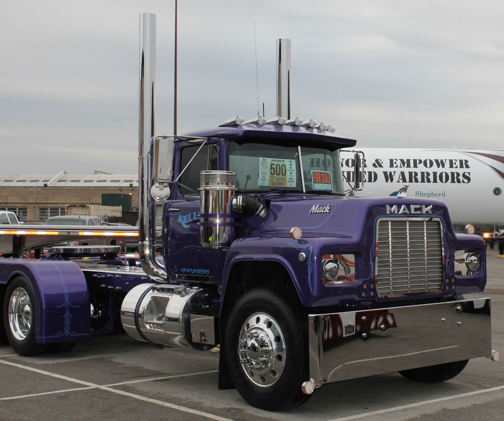 Mack Truck Rod Before And After: Pin By Brian Jolley On Mack Truck