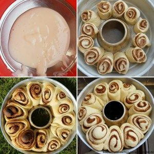 Photo of soft cinnamon rolls with thangzong from the Omnia oven in the motorhome ›cook-and-backen-im-wohnmobil.de