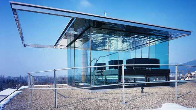 Think Thank Room Advertisement Agency in Bregenz (Austria) / Dorner and Matt Architects