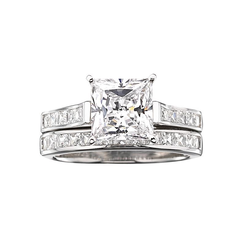 jcpenney DiamonArt Cubic Zirconia 3 34 CT TW Bridal Ring