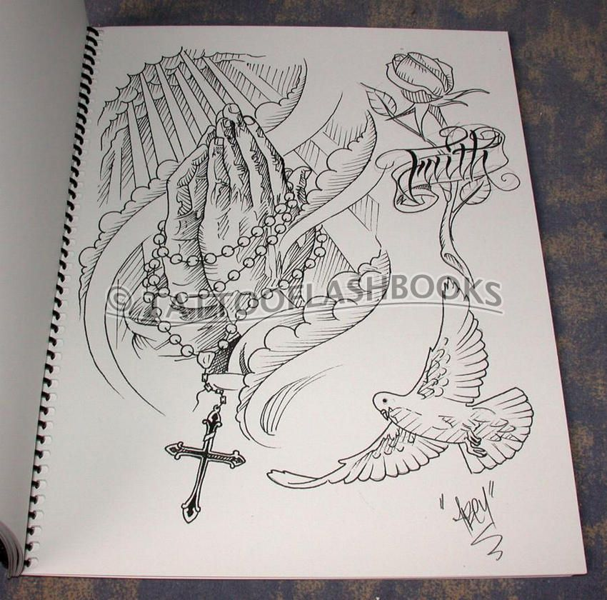 Tattoo Line Drawing Books : Religious tattoos drawings pixshark images