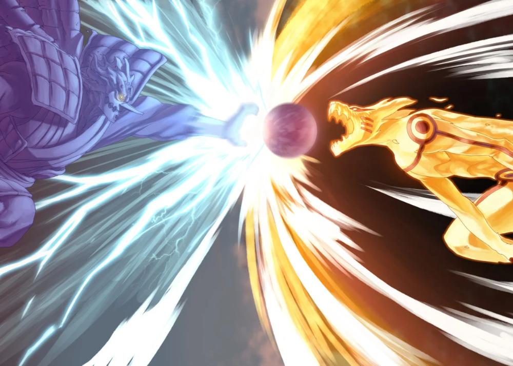 'Naruto kurama and susano' Poster Print by Ethqn | Displate