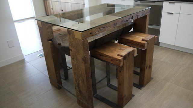 Rustic Wood Dining Table Canada