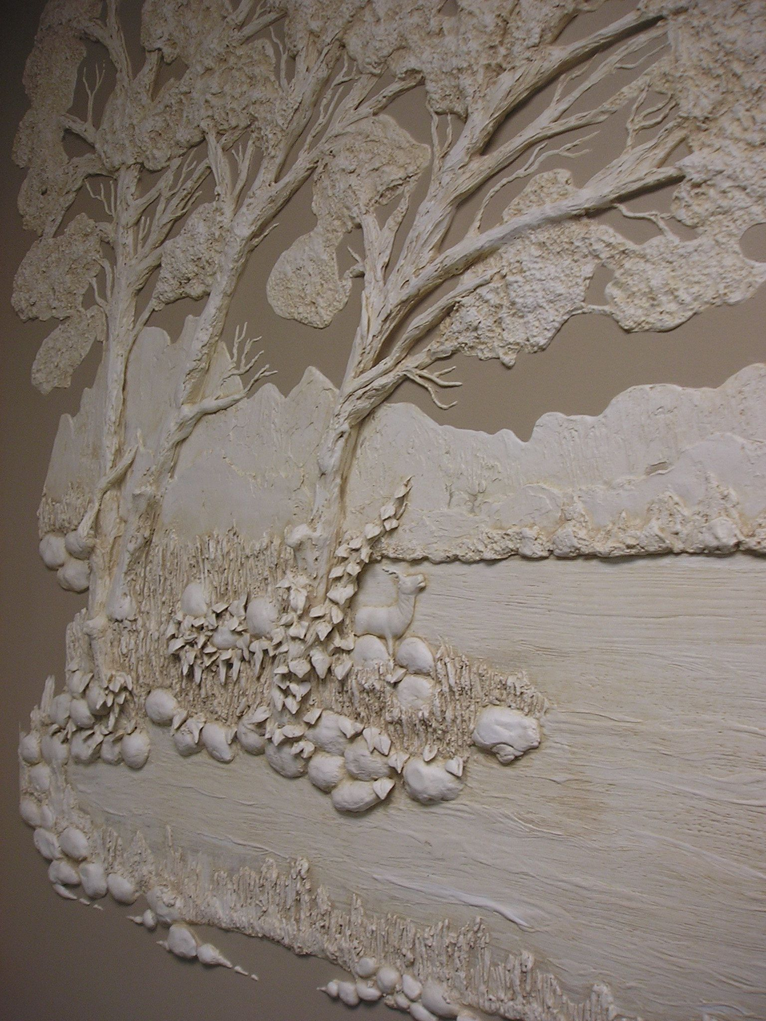 Architectural Relief Plaster High Relief Wall Sculpture Sculpted Wall Panel Sculpturesque Painting Sculpted Wa Plaster Wall Art Plaster Art Plaster Sculpture