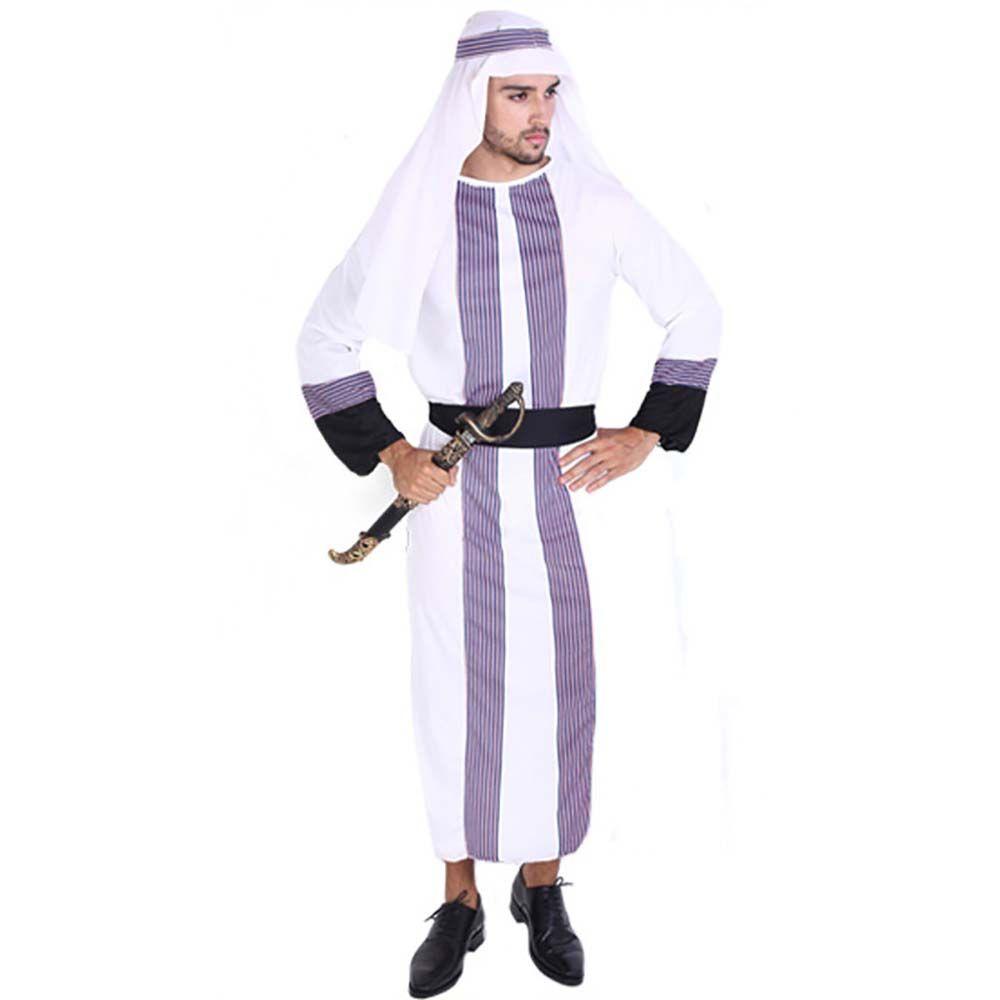 adult desert prince costume arab sheik arabian night costume dress