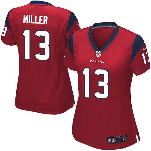 a6a030c17 Women s Nike Houston Texans  13 Braxton Miller Elite Red Alternate NFL  Jersey