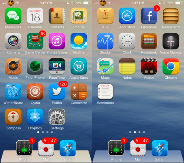 The 12 Best Ios 7 Themes For Iphone Ios 7 Iphone Facetime