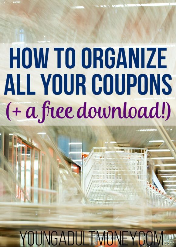 How to Organize Coupons Using a Database in Excel With Download
