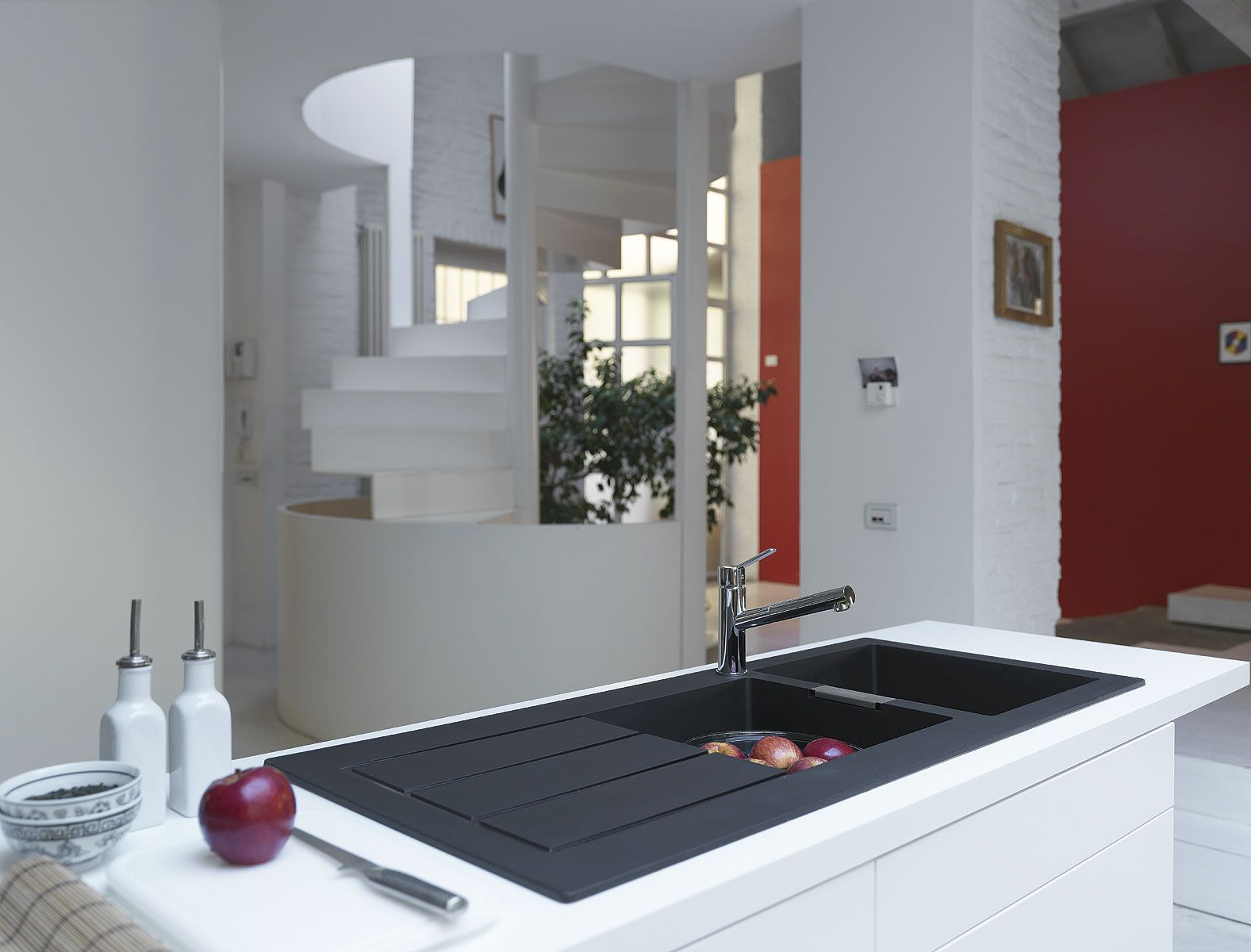 The Franke Sirius Is A Coloured Undermounted Sink Which