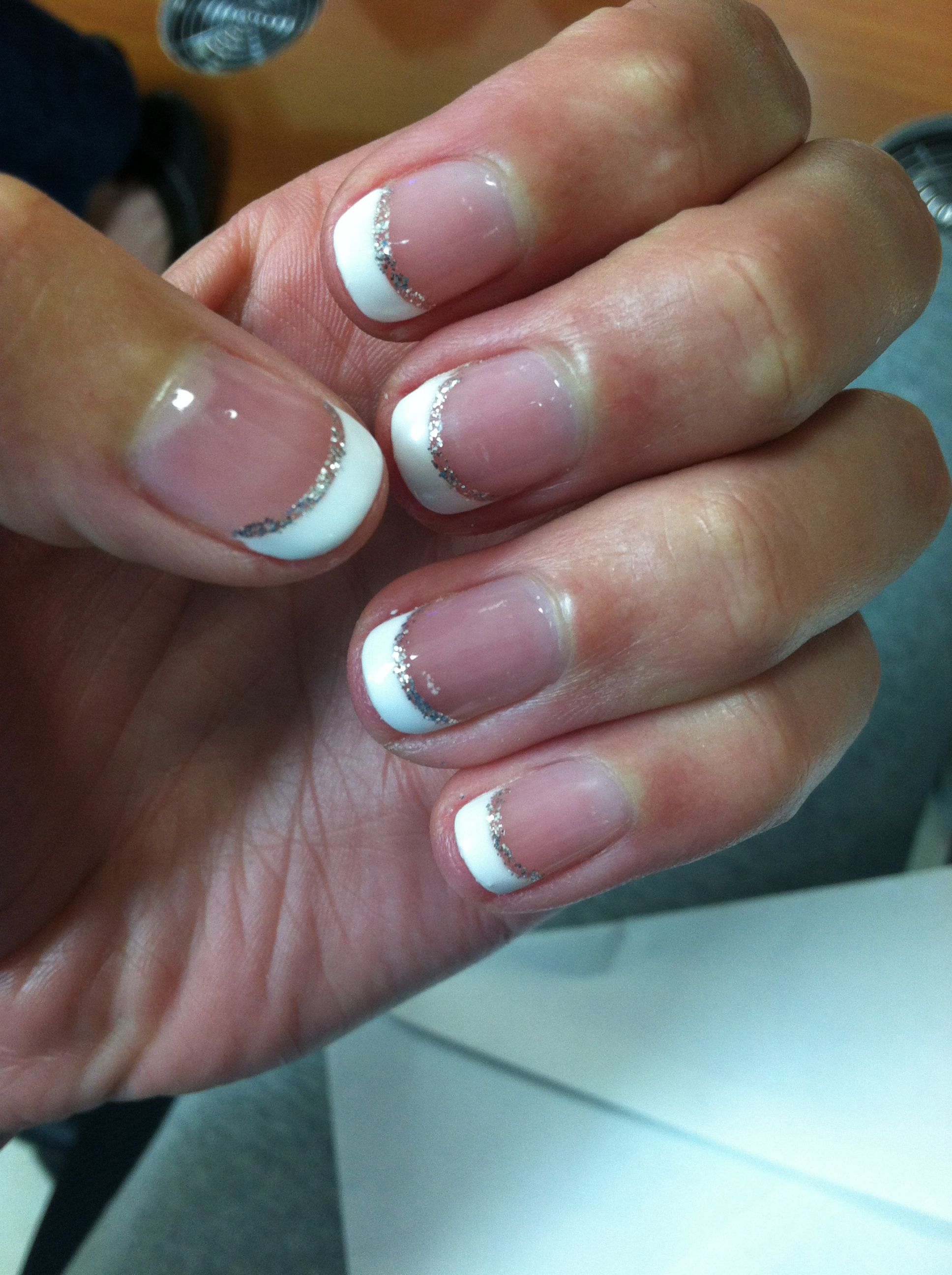 French gel manicure- short | Nails | Pinterest | Gel manicure ...