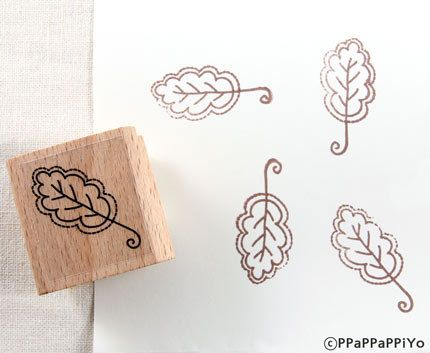 50% OFF SALE Flower pattern Rubber Stamp FP10 by ppappappiyo