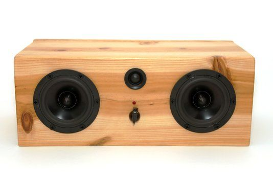 Hand Crafted Bluetooth Speaker System Big Pine Box By