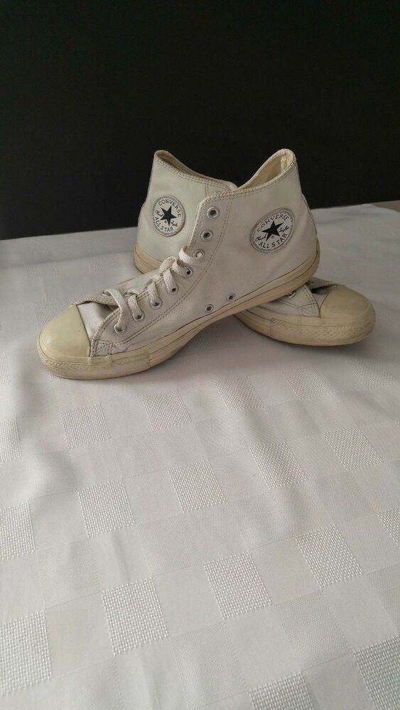 4322b245bdd7 Converse All Star Chuck Taylor White Canvas Sneakers Shoes Size 10.5   fashion  clothing  shoes  accessories  mensshoes  athleticshoes (ebay link)