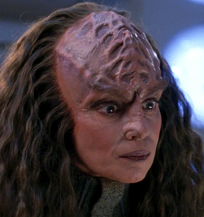 Tricia O Neil As Dr Kurak In 2020 Star Trek Star Trek Klingon Star Trek Universe