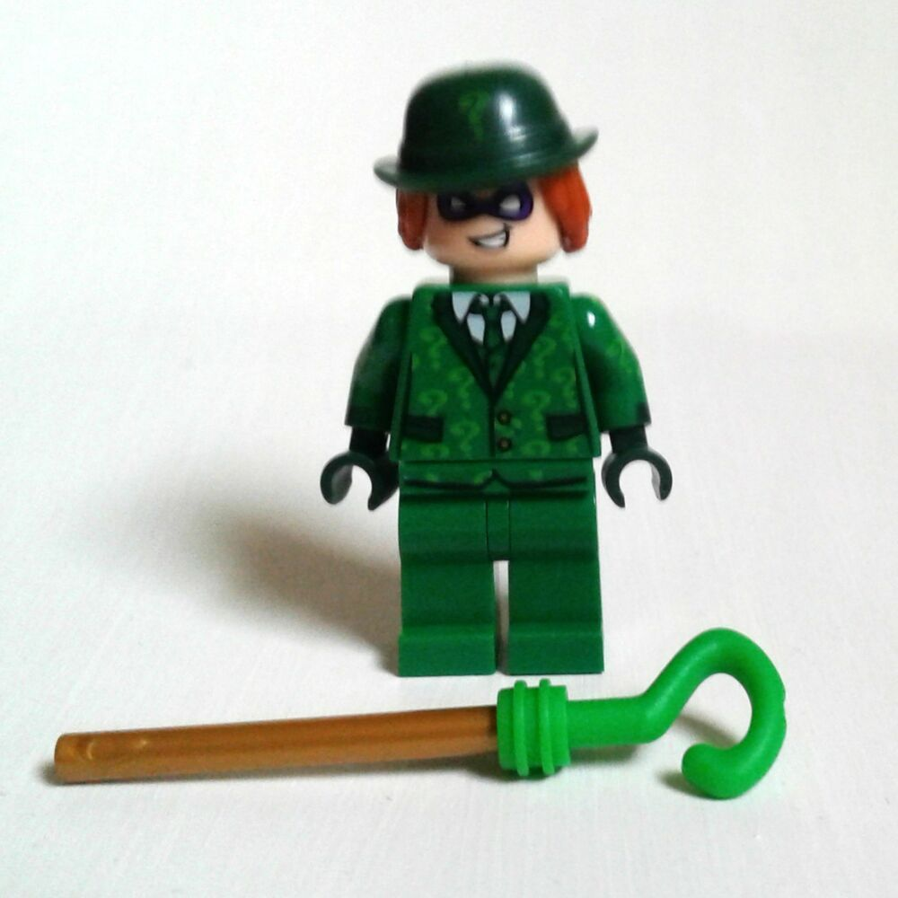 LEGO DC batman RIDDLER minifigure from Riddler Riddle