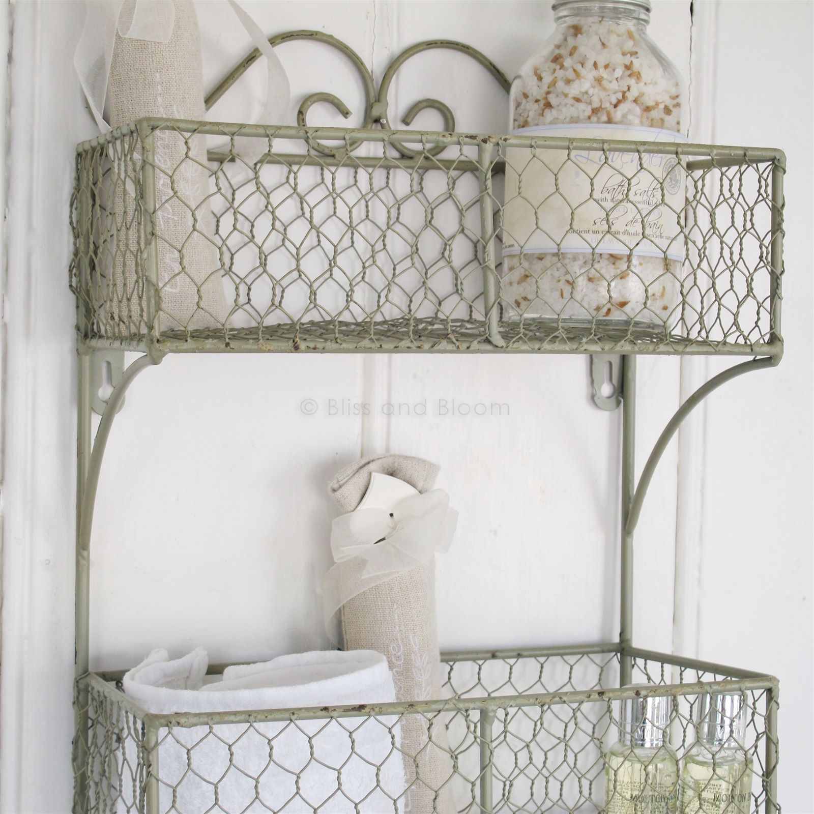 Double Wall Shelf Towel Rail | Bliss and Bloom Ltd | מדף ברזל ...