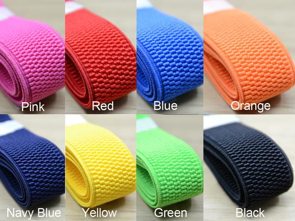 cord elastic woven elastic for craft 40mm 1.5inch wide elastic pink striped
