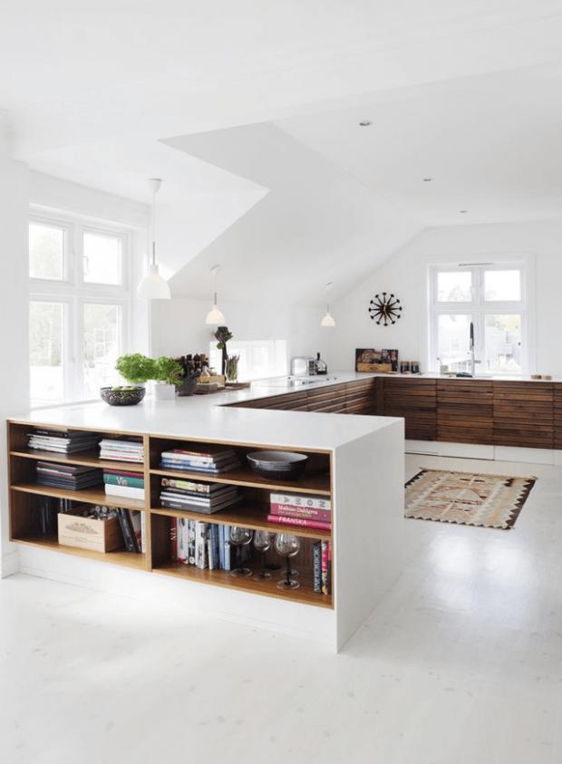 Una cocina sin armarios altos - Blog decoración y Proyectos ...
