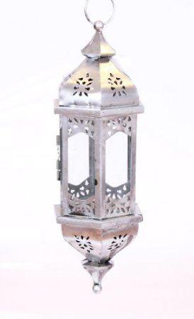 Hangelaterne Orient Aus Metall 38cm Glas Orientalisch Laterne