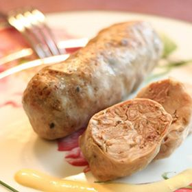 Andouillette French Is A Coarse Grained Sausage Made With
