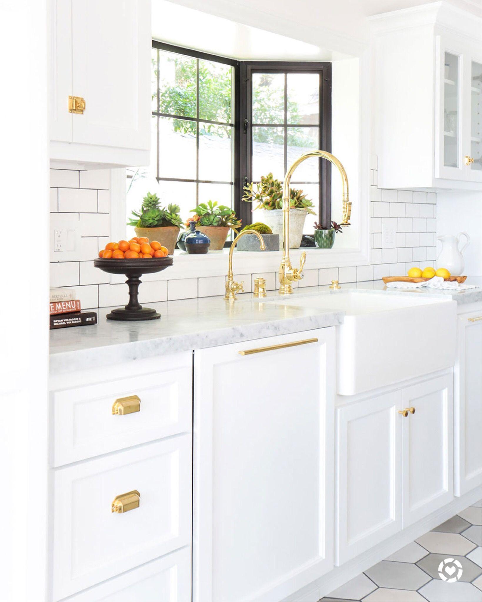 farmhouse kitchen remodel interiors by stefani stein in 2020 scandinavian kitchen design on kitchen remodel gold hardware id=28390