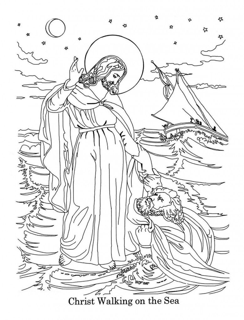 Bible Coloring Pages. Teach your Kids through Coloring ...