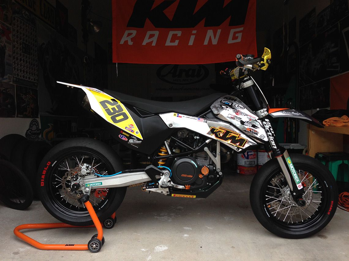 Supermoto ktm 690 stunt concept bikemotorcycletuned car tuning car - Custom Tuned Ktm 690 Smc Michael Capuchino Ktm 690dirt Bikesmotocrosscustom Bikescars Motorcyclesarea