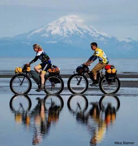 Bicycle reflections.. Loving the clarity of life ...