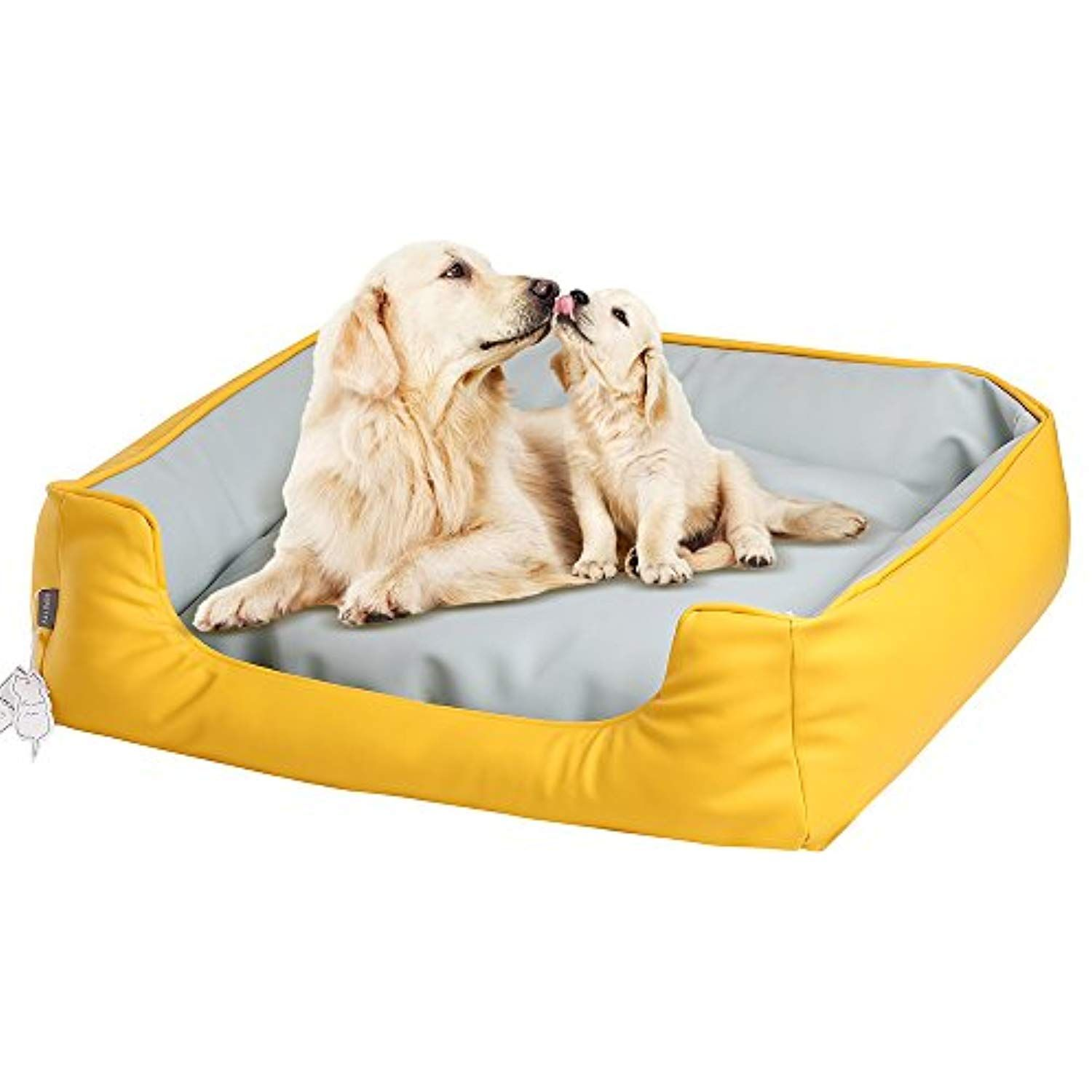 Sepetty Leather Dog Cat Bed Luxurious Dog Bed Removable Easy To Clean And Durable Pet Bed Designed For All Seasons I ˆ34 Leather Dog Bed Dog Bed Luxury Dog Cat