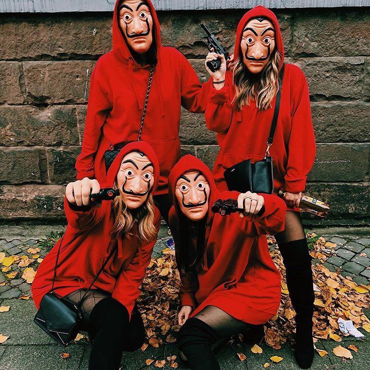 Don T Mess With Us Hausdesgeldes Karnevalskostum Faschingskostum Horror Halloween Costumes Halloween Costumes Friends Cool Halloween Costumes