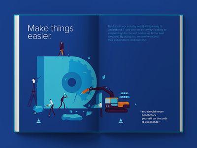 Employee Handbook Design Employee handbook, Editorial layout and