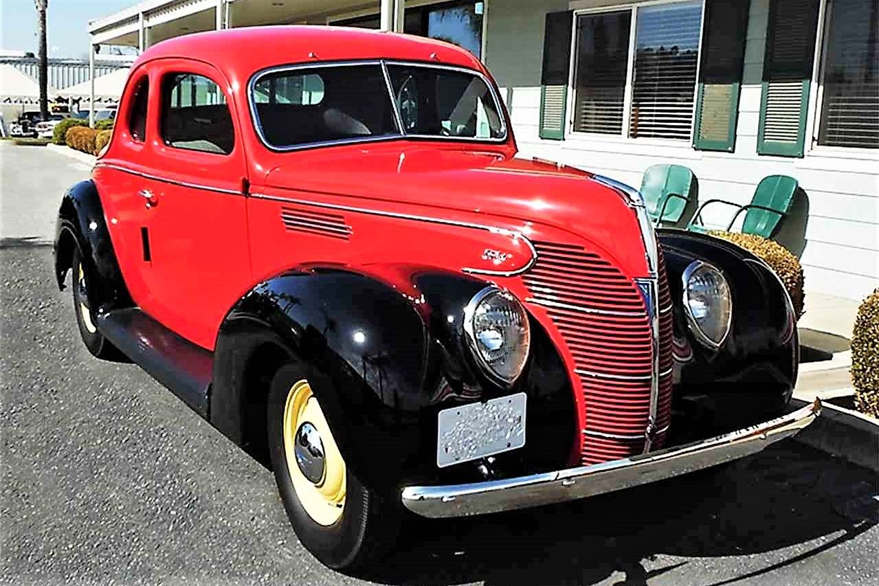 Salesman S 1939 Ford Coupe Coupe Jeepster Commando Jeepster