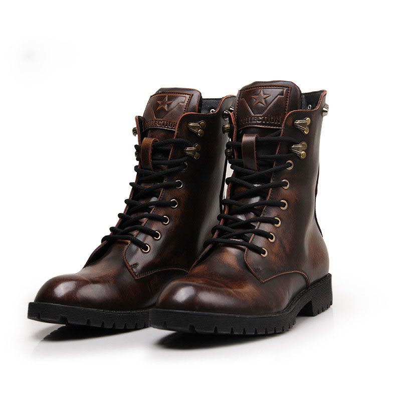 Cheap Men's Boots on Sale at Bargain Price, Buy Quality leather ...