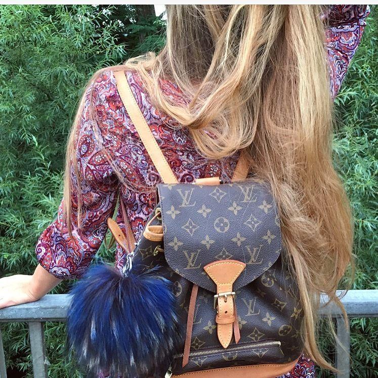 e44da3ceb8726 Louis Vuitton Montsouris Mm M51136 2546 Backpack (Rucksack) in Kleidung    Accessoires
