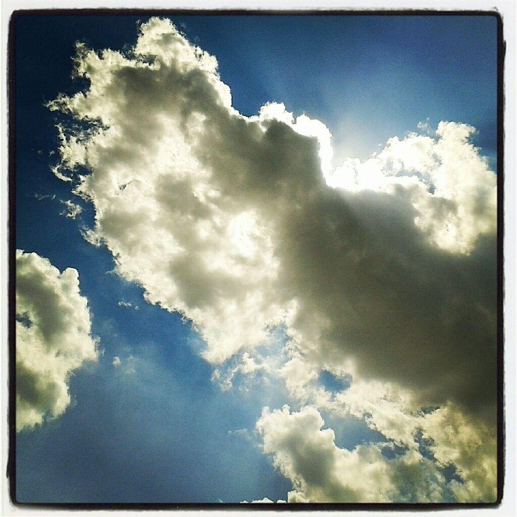 Música para el fin del mundo... Clouds, Outdoor, Just me