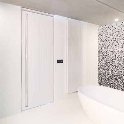 Design Interior Block Door With A Minimalist Aluminium Door Frame | Anyway  Doors | Pinterest | Doors, Modern Interior Doors And Interior Door