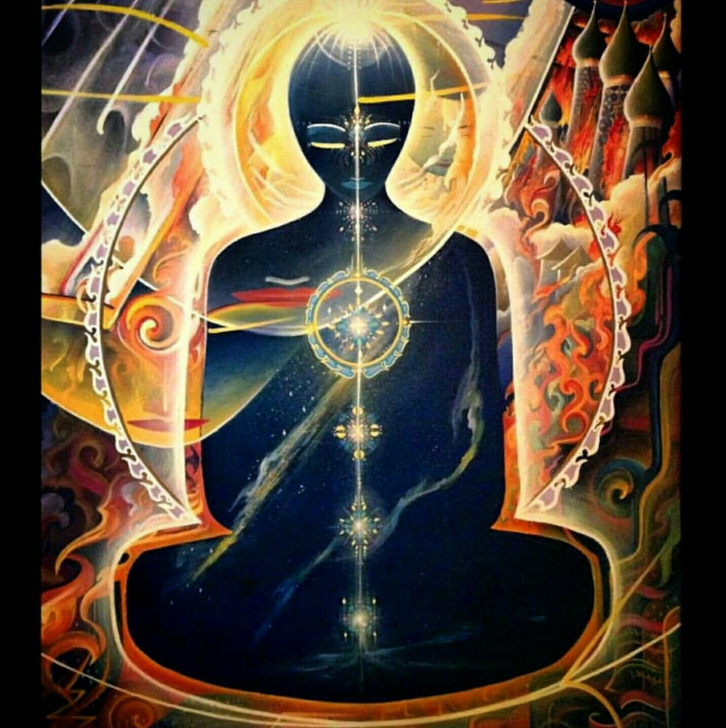 Pin by Tron on art (With images) Visionary art, Painting