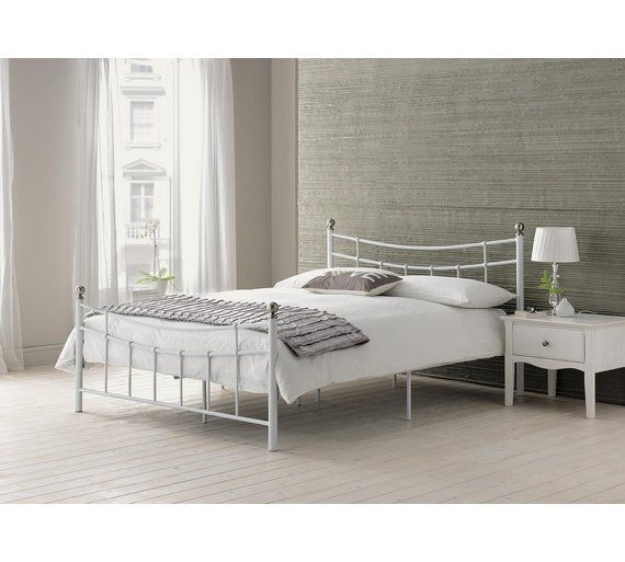 Argos Bedroom Furniture Pleasing Buy Home Darla Double Bed Frame  White At Argoscouk Visit Design Inspiration