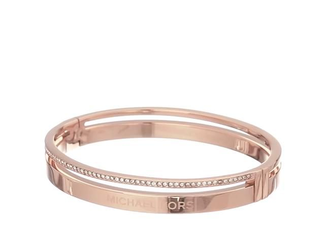 Michael Kors Fulton Hinge Bangle Bracelet Price:	$