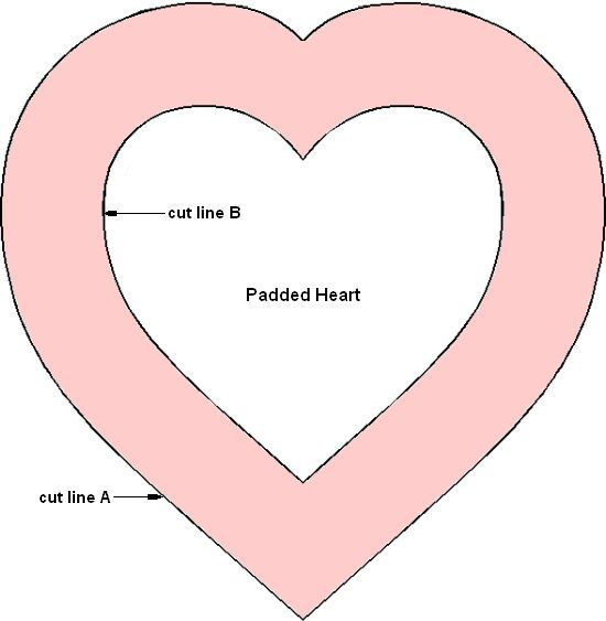 heart template for sewing - heart template for the fleece handwarmers so you don 39 t
