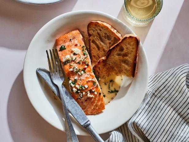 Creamy Salmon Scampi Get Creamy Salmon Scampi Reci